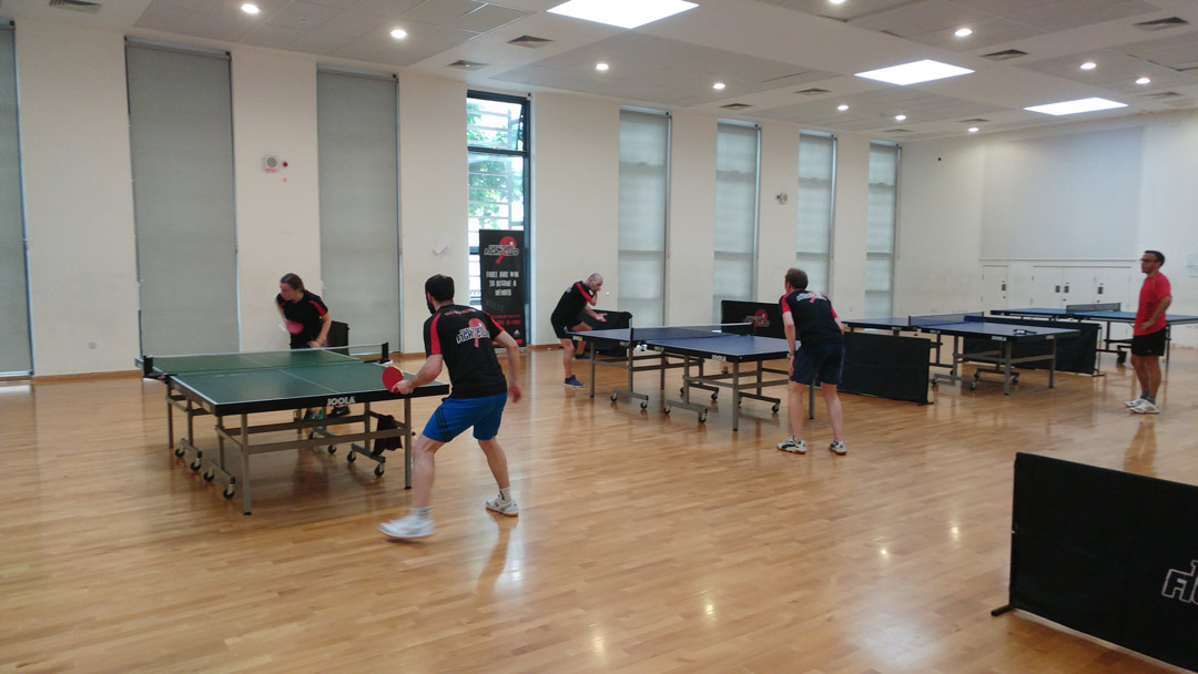 table tennis fight club training
